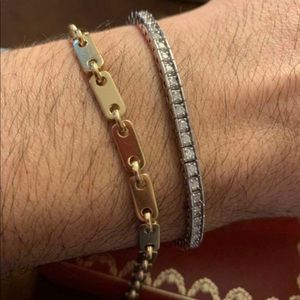 CARTIER FIDELITY BRACELET KEY BAR LINK